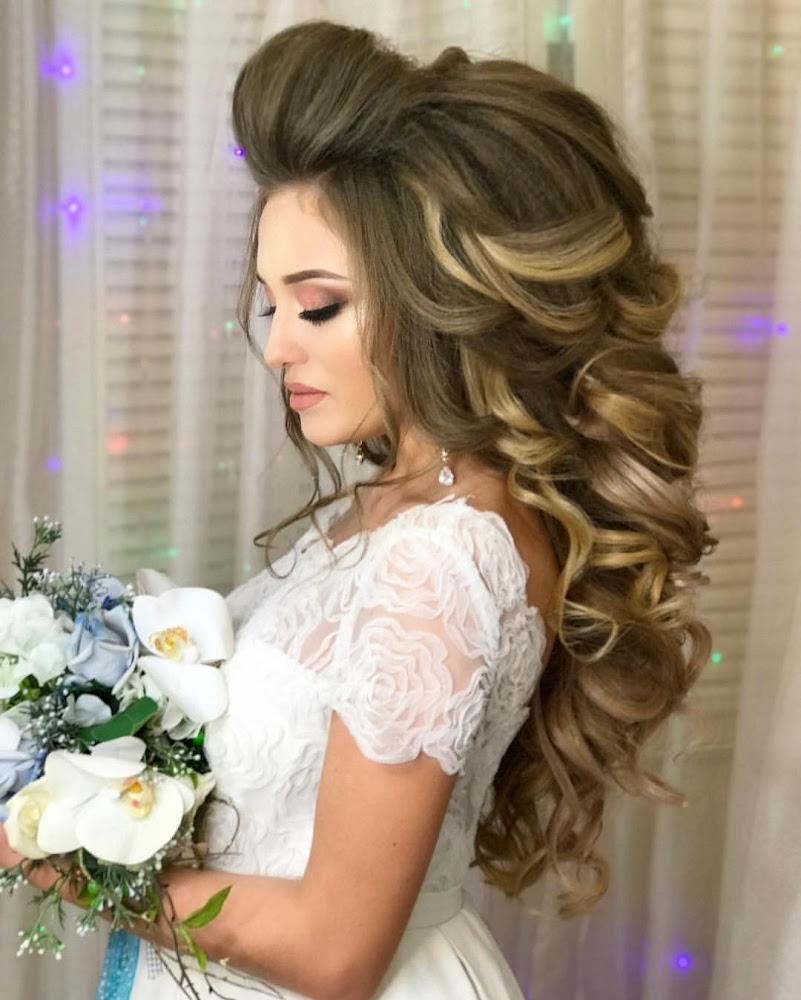 Анна комарова свадебные прически фото