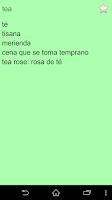 Screenshot of English Spanish Dictionary FII