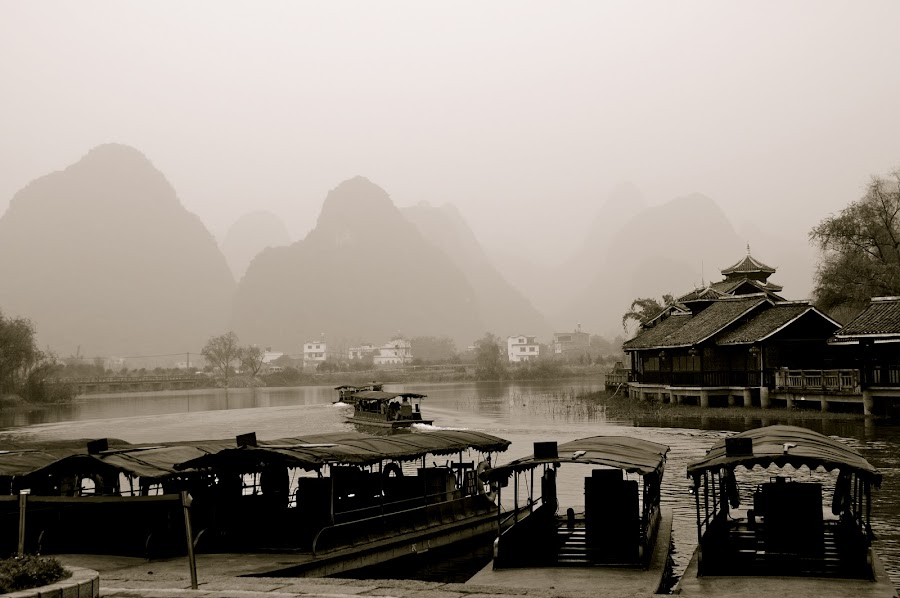 im here by Saifudin Safari - Landscapes Mountains & Hills ( guilin china )