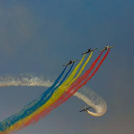 Jet Linie. by Remus Mircea - Transportation Airplanes
