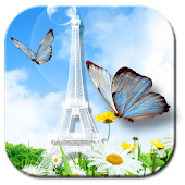 APK App Eiffel Butterfly Wallpapers for BB, BlackBerry