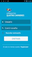 Screenshot of Quatre Carreres