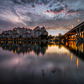 by Gordon Koh - City,  Street & Park  Vistas