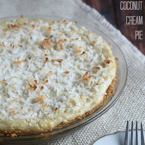 5-Minute Vegan Coconut Cream Pie