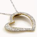 App Diamond Heart Necklace LWP apk for kindle fire