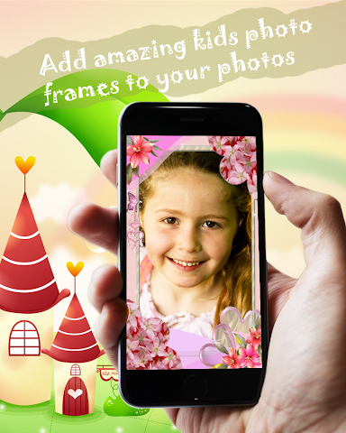 android Kids Frames Photo Editor Screenshot 0