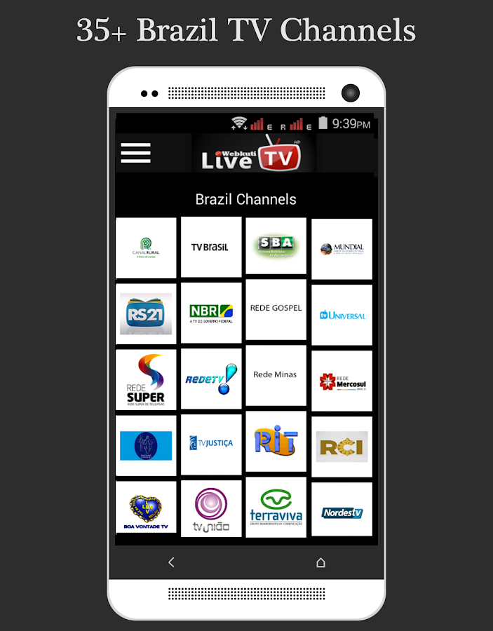 Live TV: Mobile TV, Movie & TV Screenshot 4