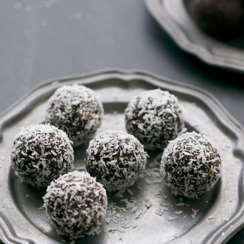Coconut-Cranberry Chocolate Truffles