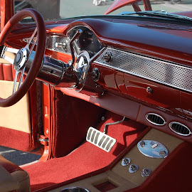 56 Chevy Interior by Philip Molyneux - Transportation Automobiles (  )