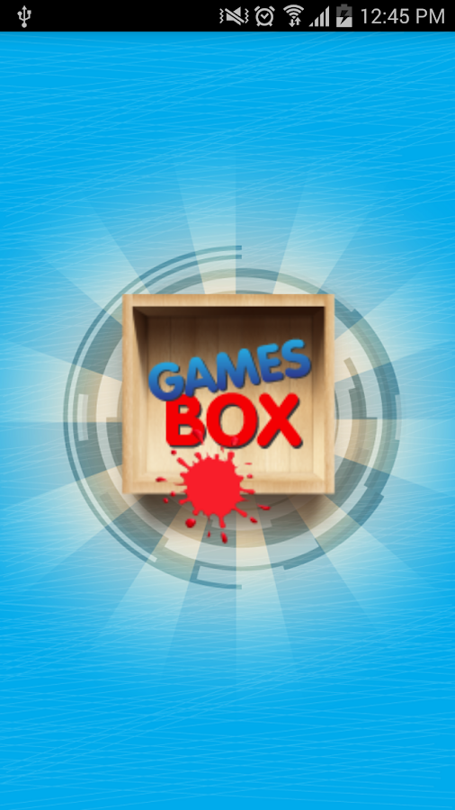 Games Box Screenshot