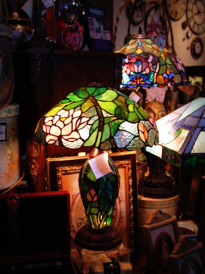 Lamps by Rhonda Kay - Artistic Objects Antiques