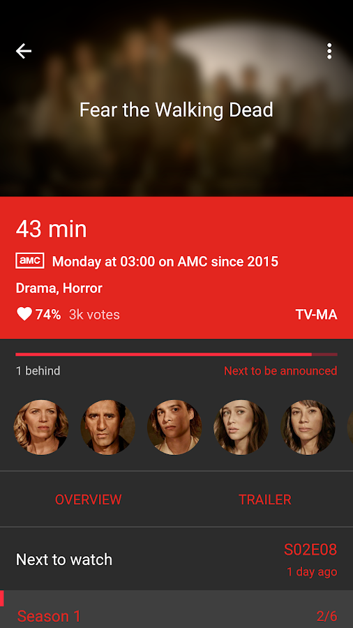 SERIST - Your TV Show Tracker Screenshot 2