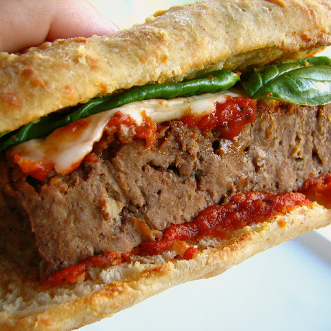 Meatloaf Sandwich on Asiago Ciabatta