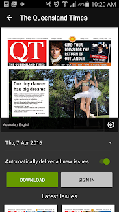The Queensland Times (QT) - screenshot