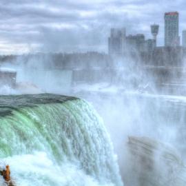 Mighty Niagara Falls by Ferdinand Ludo - Nature Up Close Water ( water, mighty, water falls, niagara, mist )