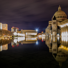 Christian Science Plaza in Boston by Michael Phillips - Buildings & Architecture Places of Worship
