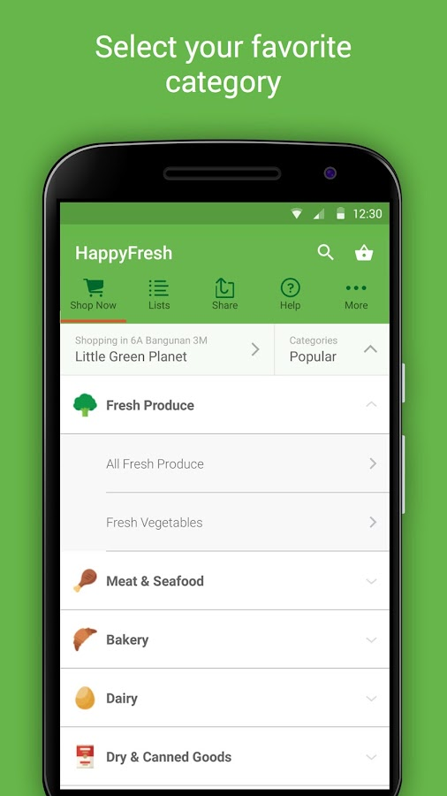 HappyFresh - Grocery Delivery Screenshot 3