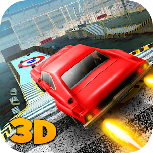 Car Stunt Curling Race 3D