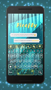 Keyboard Plus Firefly - screenshot