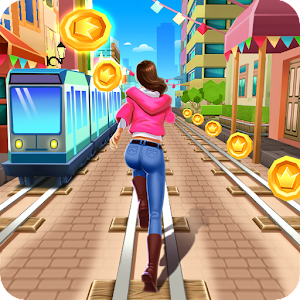 Railway Run Surfers For PC (Windows & MAC)