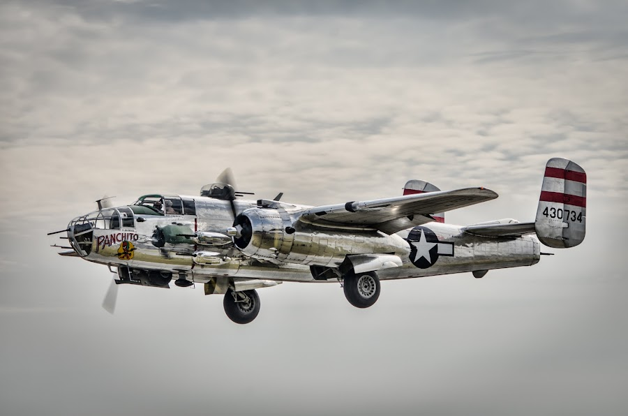 by Brian Young - Transportation Airplanes ( world war, wwii, panchito, allies, airplane, bomber )