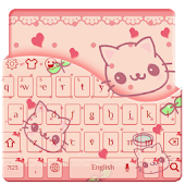 Free Download Lovely Cute Kitty keyboard APK for Samsung