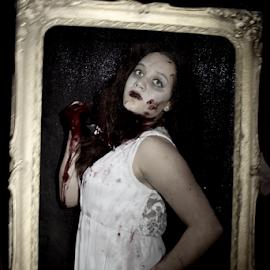 HORROR 004 by Elizabeth Liversage - Public Holidays Halloween