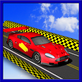 Extreme Rooftop Free Stunt Car Race Top Racer 3D