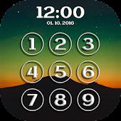 Lock Screen Clock APK for Bluestacks