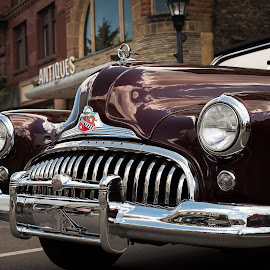 1948 Buick Super Convertible by Andrew Conley - Transportation Automobiles ( car, vintage, automobile, chrome, buick, car show, detroit, antique, convertible )