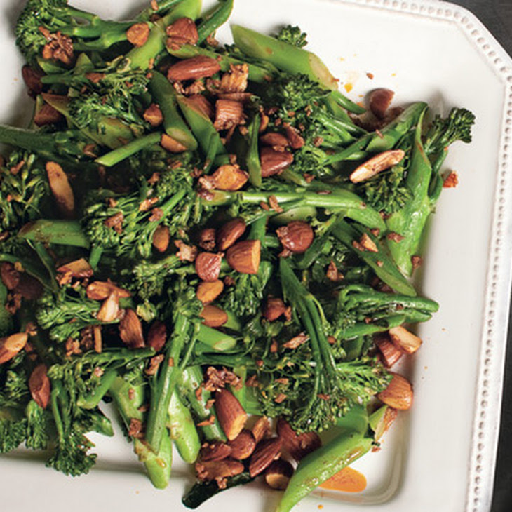 Broccolini with Smoked Paprika, Almonds, and Garlic Recipe | Yummly