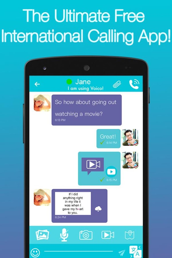 Voico: Free Calls and Messages Screenshot 3