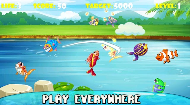 Ninja Fish – Fishing Cut, Fish Cutting Games APK screenshot thumbnail 5