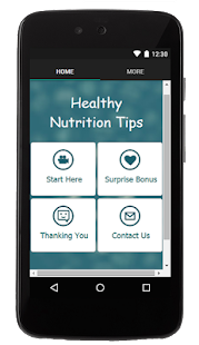 Healthy Nutrition Tips - screenshot