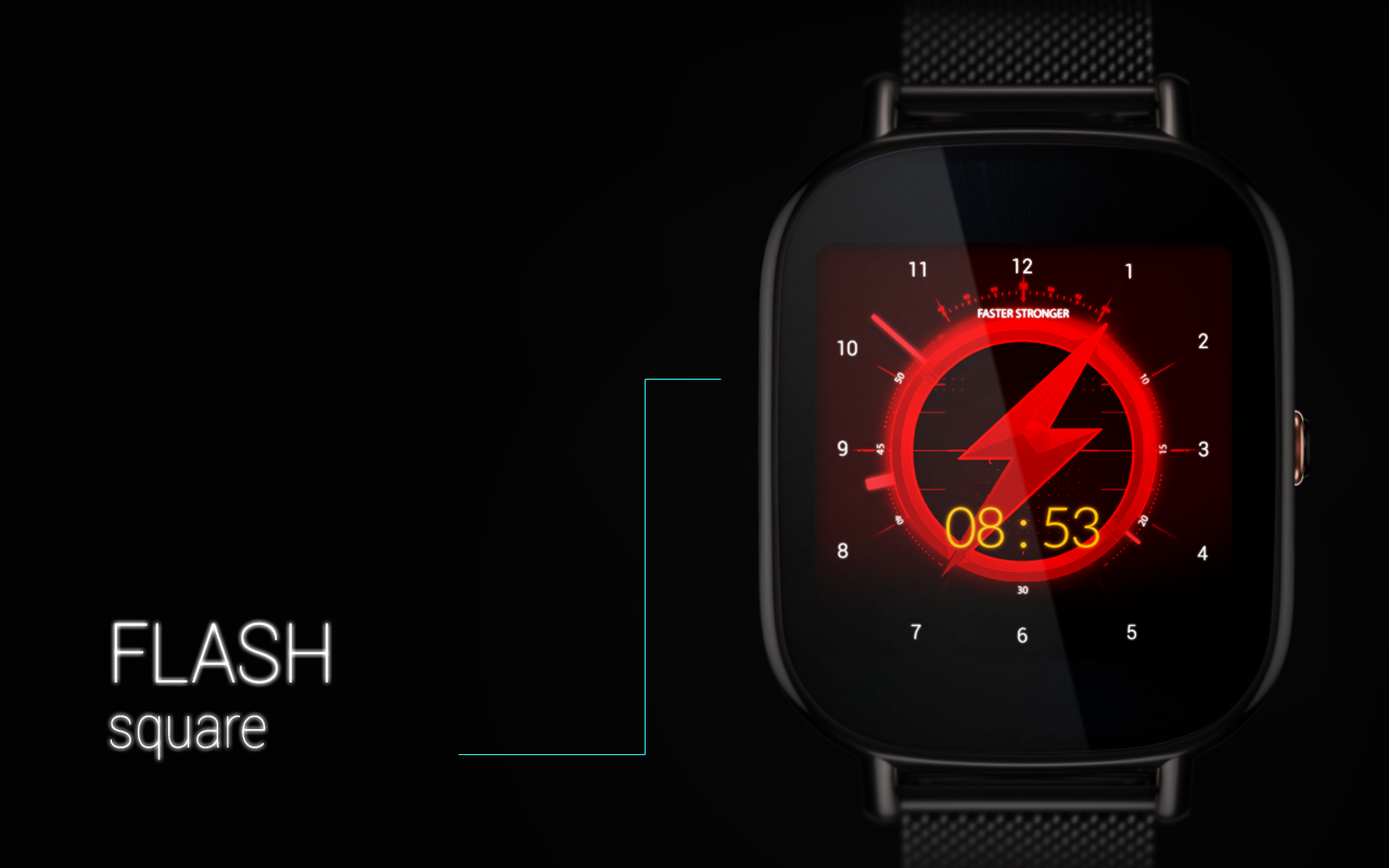 FLASH - Watch Face Screenshot 16