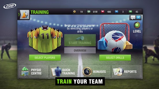 Top Eleven Be a Soccer Manager for Lollipop - Android 5.0