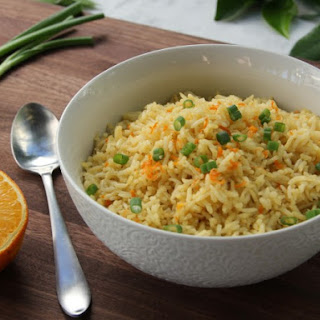 Orange-Flavored Rice