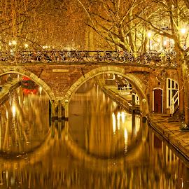 Utrecht by Yash Mehta - City,  Street & Park  Street Scenes ( canals, holland, long exposure, cityscape, utrecht )