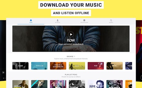 Deezer: Song & Music Playlists APK for Ubuntu