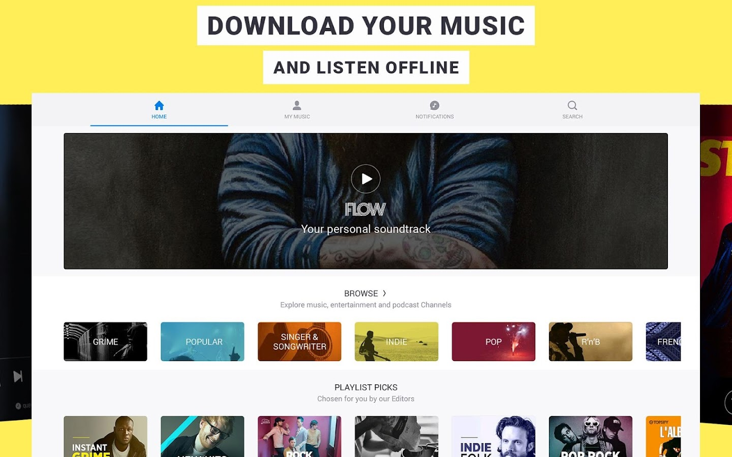 Deezer: Music & Song Streaming Screenshot 7