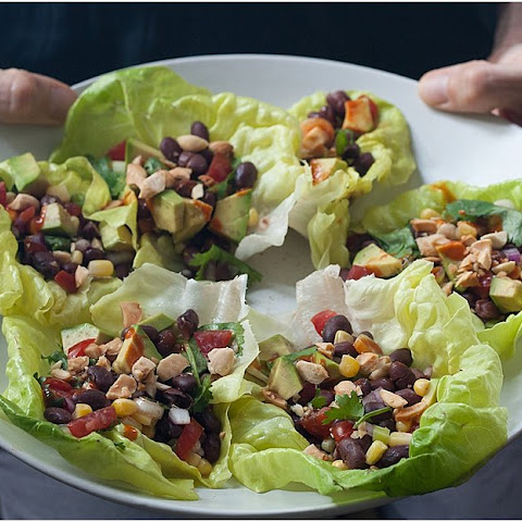 Mexican-Inspired Lettuce Cup Tacos