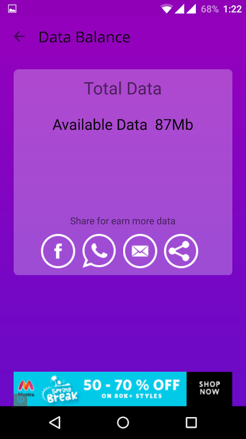 Free Data Screenshot 3