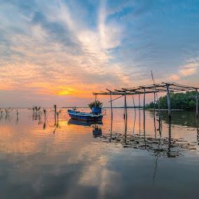 Sunrises Jubakar by Nazeri Mamat - Landscapes Sunsets & Sunrises ( sunrises jubakar )