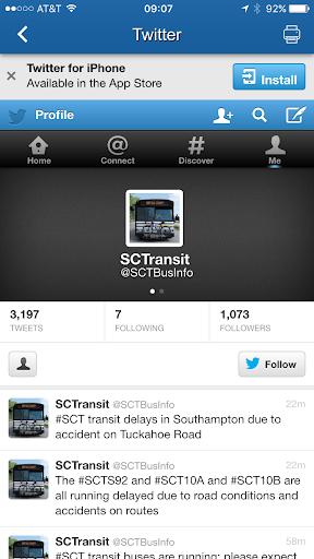 Suffolk County Transit - screenshot