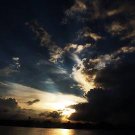 Landscape by Jayanta Rakshit - Landscapes Cloud Formations