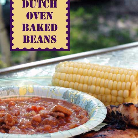 Dutch Oven Baked Beans