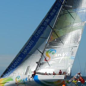 Volvo Ocean Race by Kirsty Wilkins - Novices Only Sports ( volvo ocean race, cape town )