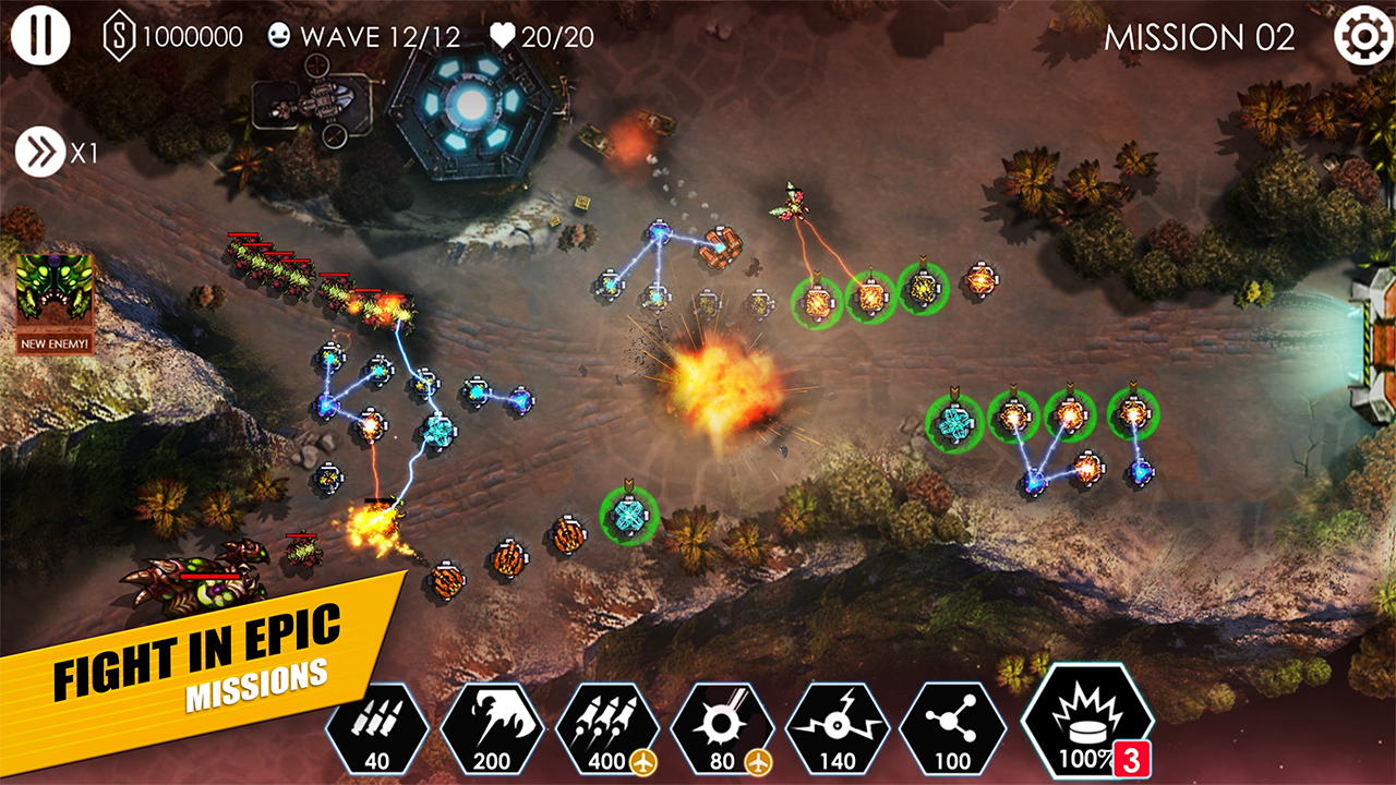 Tower Defense: Invasion HD Screenshot 3