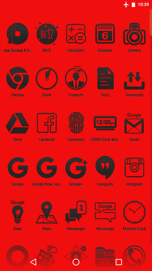 Fantastico Icon Pack Screenshot 3