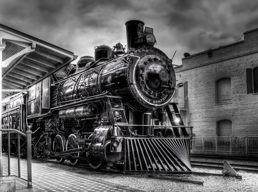 Church Street by Tom Baker - Transportation Trains ( mylifeinhdr, church street station, engine, locomotive, train )